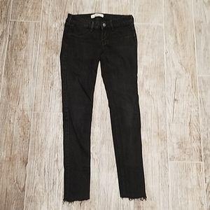 Faded Black Hollister super skinny jeans